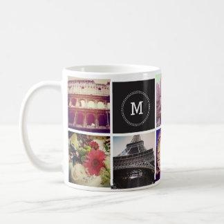 カスタムなInstagram 8の写真のマグ コーヒーマグカップ