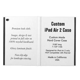 カスタムなiPadの空気2箱- PowisのiCaseのフォリオの箱 Powis iPad Air 2 ケース
