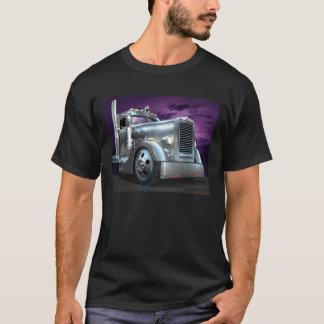"""カスタムなPeterbiltの""""銀製の幽霊""""のTシャツ Tシャツ"""