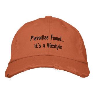 カスタムなPieradiseによって見つけられる野球帽 刺繍入りキャップ