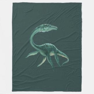 カスタムなPlesiosaurusの大きいフリースブランケット フリースブランケット