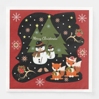 カスタムなtexを持つかわいいクリスマスのベクトル絵