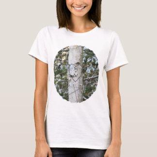 カスタムによって切り分けられる樺の木のフード付きスウェットシャツ Tシャツ