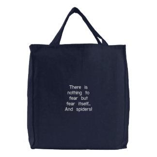 カスタムによって刺繍されるバッグ 刺繍入りトートバッグ