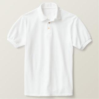 カスタムによって刺繍されるポロ ポロシャツ