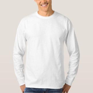 カスタムによって刺繍される長袖のワイシャツ 刺繍入り長袖Tシャツ
