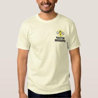 カスタムによって刺繍される養蜂家のワイシャツ 刺繍入りTシャツ