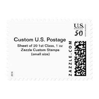 カスタムの第1クラス1つのozの郵便料金(小型)