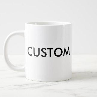 カスタムの非常に大きいジャンボ20oz白いコーヒー・マグ ジャンボコーヒーマグカップ