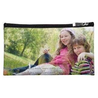 カスタムは写真の化粧のバッグMのカスタムな写真を印刷しました コスメティックバッグ