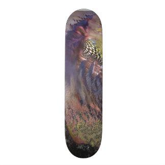 カスタムデザインのスケートボード未来派のカッコいい 18.1CM オールドスクールスケートボードデッキ
