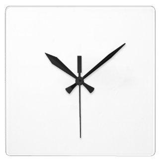カスタム四角形壁時計 スクエア壁時計