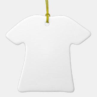 カスタムTシャツ型オーナメント 陶器製Tシャツ型オーナメント