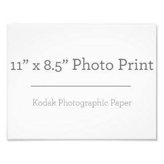 カスタム11 x 85の写真のプリント フォト