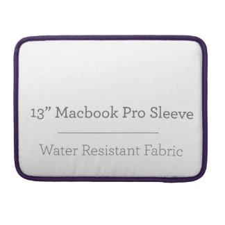 カスタム13in Macbookのプロ袖 MacBooks 用スリーブ