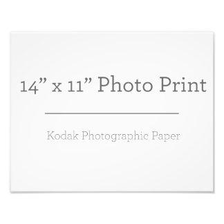 カスタム14 x 11の写真のプリント フォトプリント