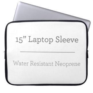 カスタム15インチのラップトップスリーブ コンピュータスリーブ