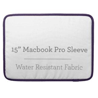 カスタム15in Macbookのプロ袖 MacBook Pro スリーブ