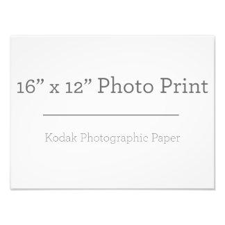 カスタム16のx12写真のプリント フォトプリント