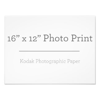 カスタム16のx12写真のプリント 写真プリント