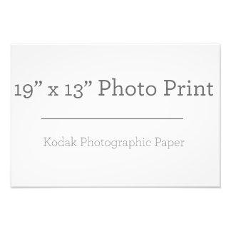 カスタム19 x 13の写真のプリント 写真アート