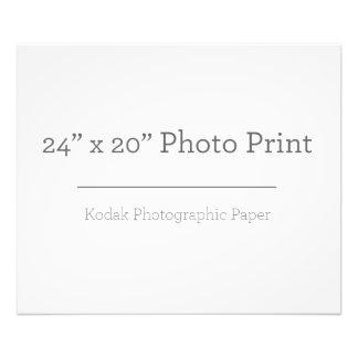 カスタム24 x 20の写真のプリント フォトプリント