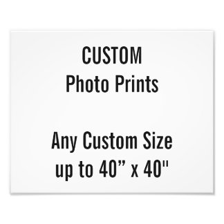 カスタム300 x 240mmの写真のプリントのイギリスのフレームサイズ フォトプリント
