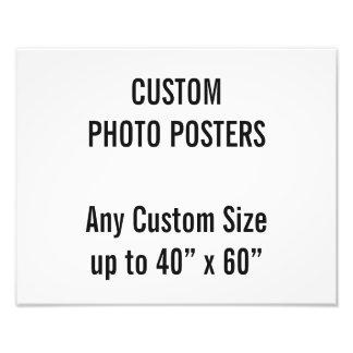 """カスタム350 x 280mmの写真ポスター、40""""までx 60"""" フォトプリント"""