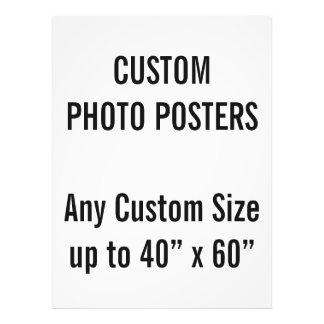 """カスタム37.5"""" x 50""""写真ポスター、40""""までx 60"""" フォトプリント"""