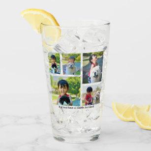 カスタム5の写真の記念品のコラージ タンブラーグラス