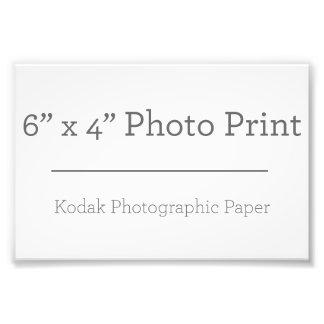 カスタム6 x 4の写真のプリント フォトグラフ