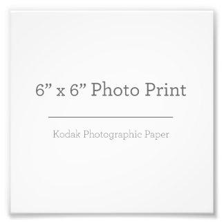 カスタム6 x 6の写真のプリント 写真プリント