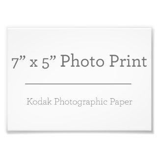 カスタム7 x 5の写真のプリント 写真