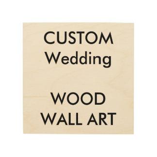 """カスタム8"""" x 8""""木の小さい正方形の写真のプリント ウッドウォールアート"""