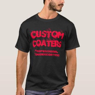 カスタム、コーター、プロフェッショナル、Powdercoating Tシャツ