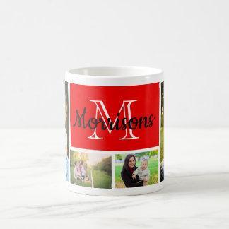 カスタム、家族写真(4) コーヒーマグカップ