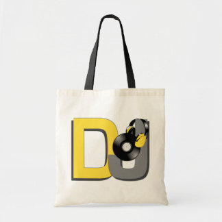 カスタムDJは袋に入れます-スタイル及び色を選んで下さい トートバッグ