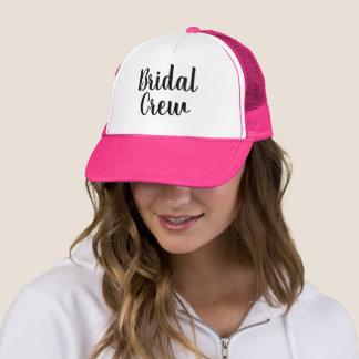 カスタムhandlettered花嫁の乗組員のパーティーのトラック運転手の帽子 キャップ