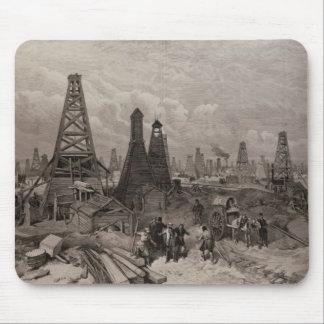 カスピ海の馬句の石油の井戸 マウスパッド