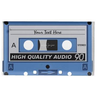 カセットテープのカスタムなテーブルの帯出登録者 テーブルカードホルダー