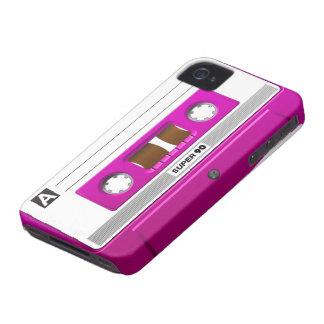 カセットテープのピンク Case-Mate iPhone 4 ケース