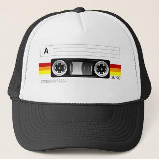カセットテープのラベルの帽子 キャップ
