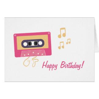 カセットテープの誕生日 カード