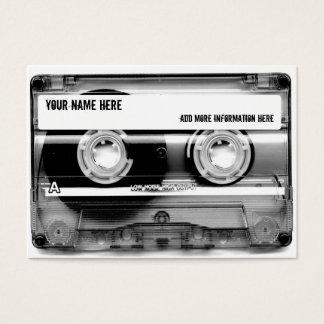 カセットテープのMixtapeの名刺 名刺