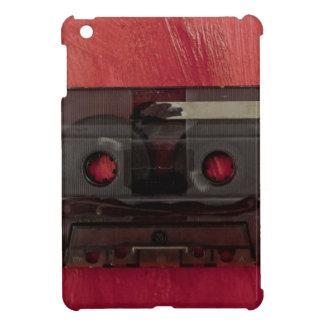 カセットテープ音楽ヴィンテージの赤 iPad MINIケース