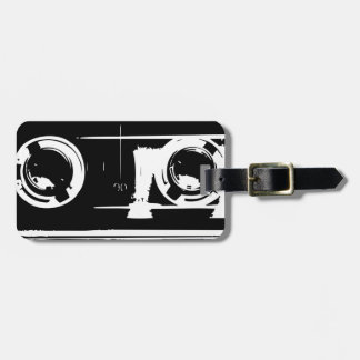カセットテープ ラゲッジタグ
