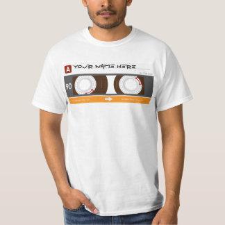 カセットテープ Tシャツ