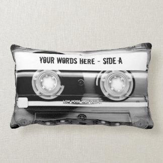 カセットテープMixtape (名前入りな) ランバークッション