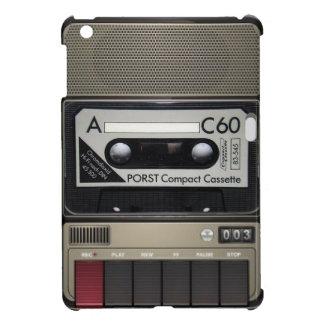 カセット記録的でクラシックなipadの場合 iPad mini カバー