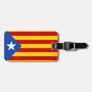 カタロニアの旗 ラゲッジタグ